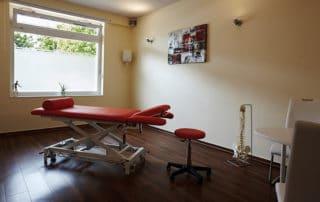 Osteopathie und Physiotherapie Praxis Norderstedt weiteres Behandlungszimmer